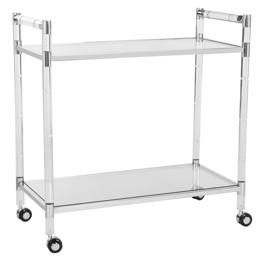 Safavieh Duval Acrylic Bar Trolley