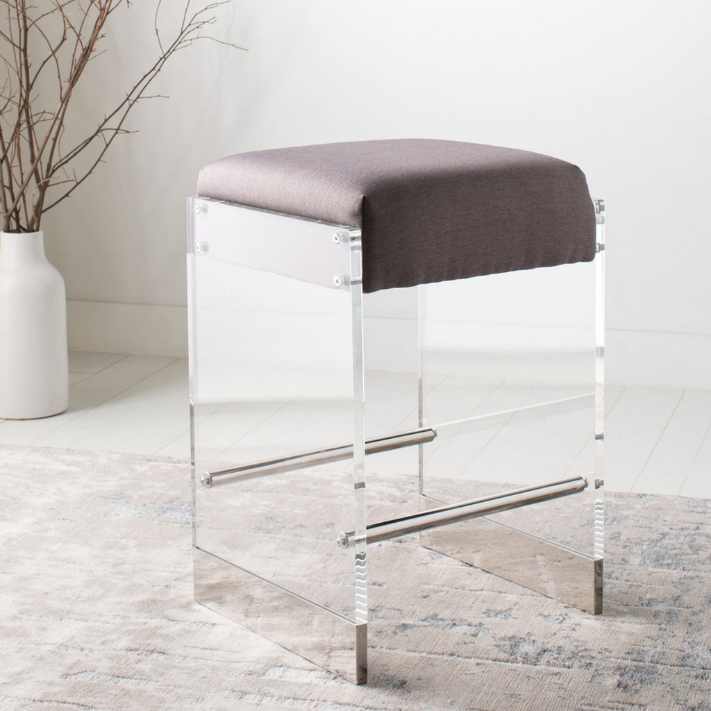 Safavieh Piper Acrylic Counter Stool Lifestyle View