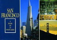 San Francisco: A Book of 21 Postcards
