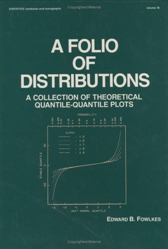 A Folio of Distributions: A Collection of Theoretical Quantile-quantile Plots (Statistics:  A Series of Textbooks and Monographs)