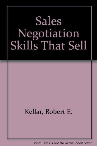 Sales Negotiation Skills That Sell