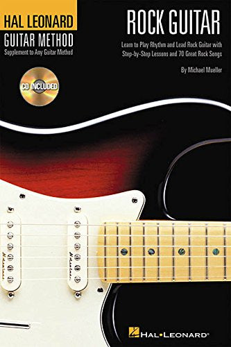 Rock Guitar 6x9 Bk/CD Hal Leonard Guitar Method (Hal Leonard Guitar Method (Songbooks))