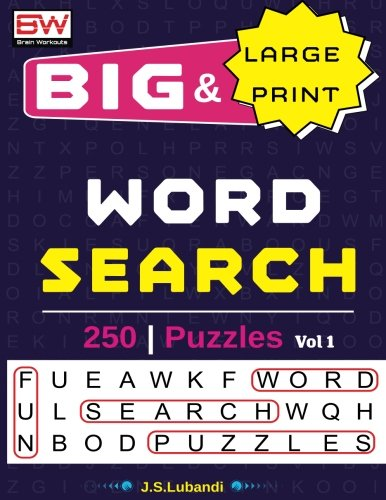 BIG & Large Print WORD SEARCH Puzzles (Volume 1)