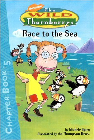 Race to the Sea (Wild Thornberry's Chapter Books)