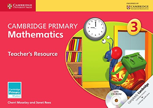 Cambridge Primary Mathematics Stage 3 Teacher's Resource with CD-ROM (Cambridge Primary Maths)