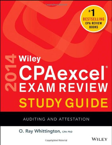 Wiley CPAexcel Exam Review 2014 Study Guide, Auditing and Attestation