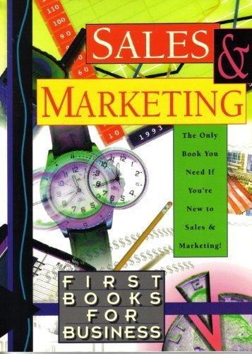 Sales and Marketing (First Books for Business)