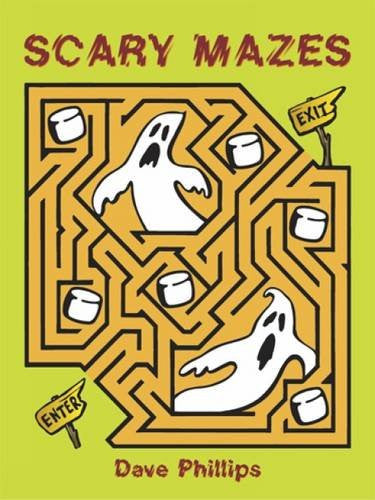 Scary Mazes (Dover Children's Activity Books)
