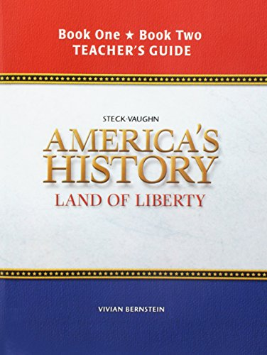 American History Land of Liberty: Teacher's Guide, Books 1 & 2 2006