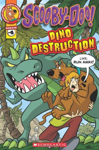 Scooby-Doo Comic Storybook #4: Dino Destruction (Scooby-Doo Comic Storybook Readers)