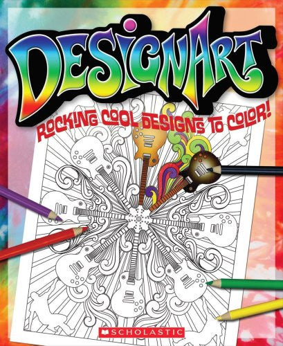 Rocking Cool Designs To Color (Design Art)