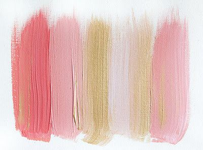 Pinks and golds give all the creative feels on the Best Day Ever blog.