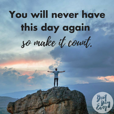 Inspirational quotes on the Best Day Ever blog.