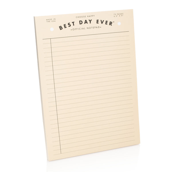 Official Best Day Ever Notepad