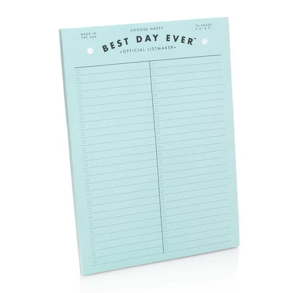 Blue Notepad Listmaker