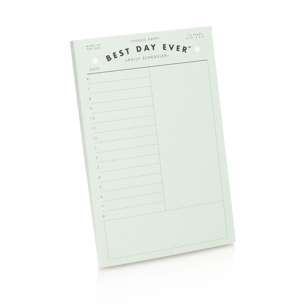 Daily Notepad Scheduler
