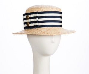 Binnacle Raffia Straw Boater