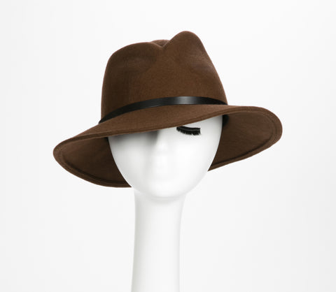 Adventuress  Wool Felt Fedora