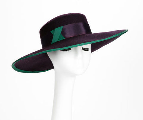 Dover Wool Felt wide brim hat