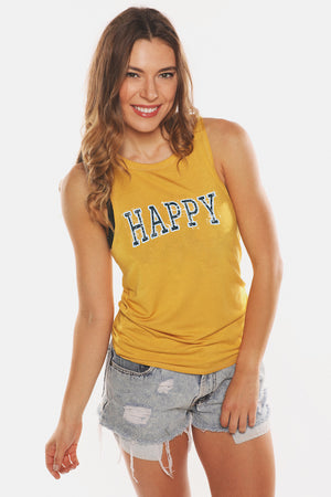 HAPPY Holiday 19' Muscle Tank