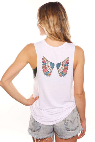 Gut Feelings Are Guardian Angels Muscle Tank