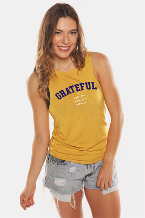 Grateful For Everything Holiday 19' Muscle Tank
