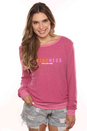 Kindness Over Everything Cozy Sweatshirt