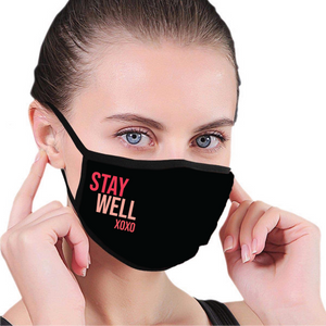 Stay Well xoxo Face Mask