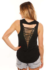 Woman Up 90's Back Muscle Tank