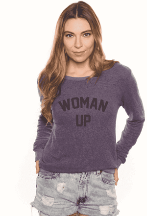 Woman Up Cozy Sweatshirt