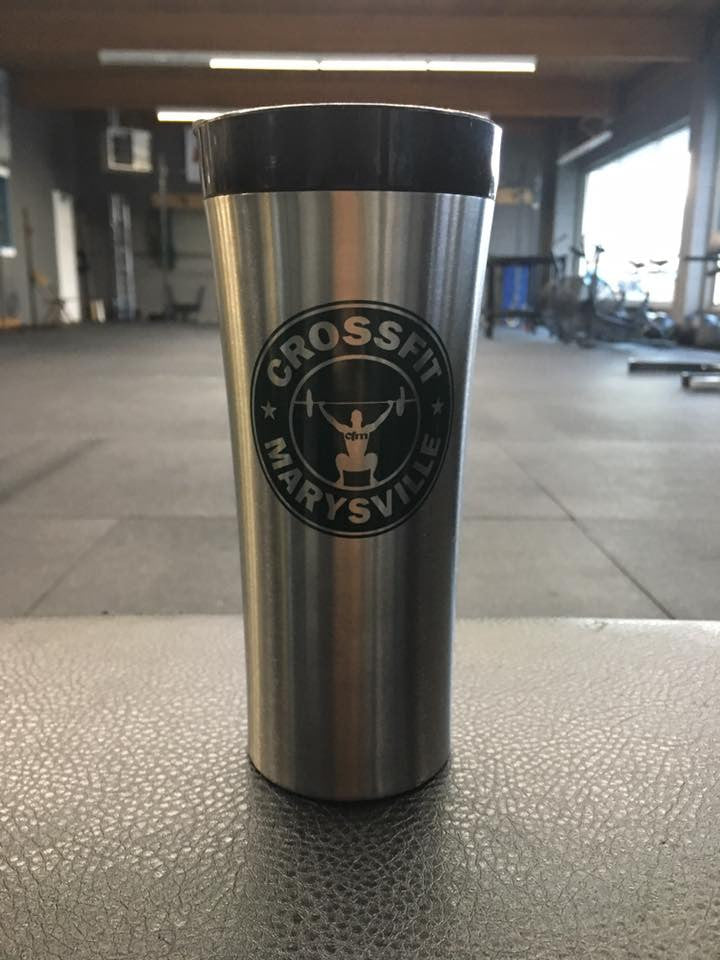 CFM coffee tumbler