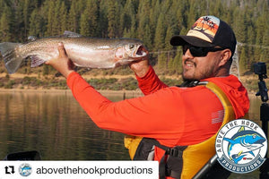 Monster Trout Fishing with Above the Hook Productions