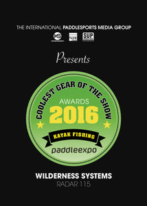 WS Radar 115 Takes Home Coolest Gear of 2016 | PRO Kayak