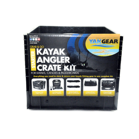 YakGear - Kayak Angler Crate Kit