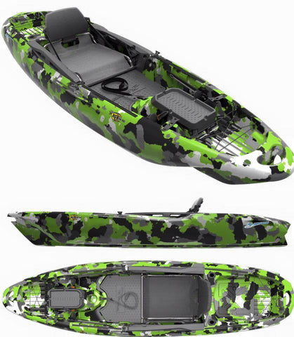 3 Waters Kayaks - Big Fish 120