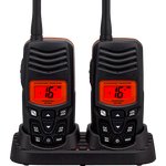 Standard Horizon HX-100 Handheld, Floating, 2.5Watt, VHF Radio - 2 Pack - PRO Kayak Fishing