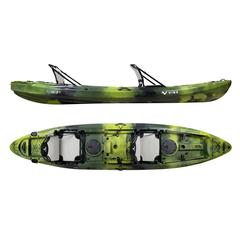 Vibe Kayaks - Yellowfin 130T Tandem Kayak Package