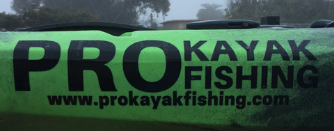 PKF Stickers - PRO Kayak Fishing Die-Cut Sticker
