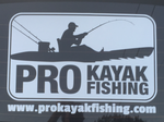 PKF Stickers - Fish On! Die-Cut Window Sticker