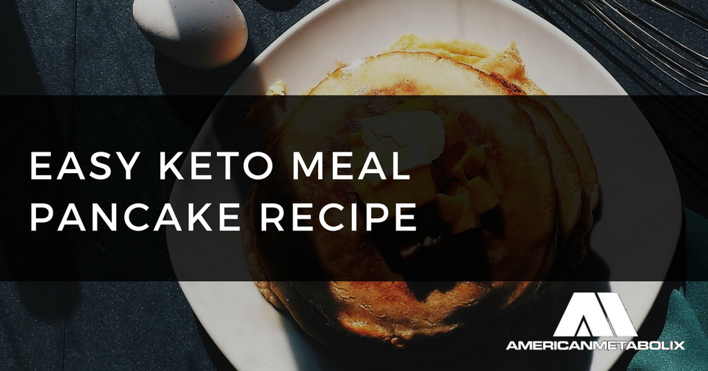 Easy Keto Meal Pancake Recipe