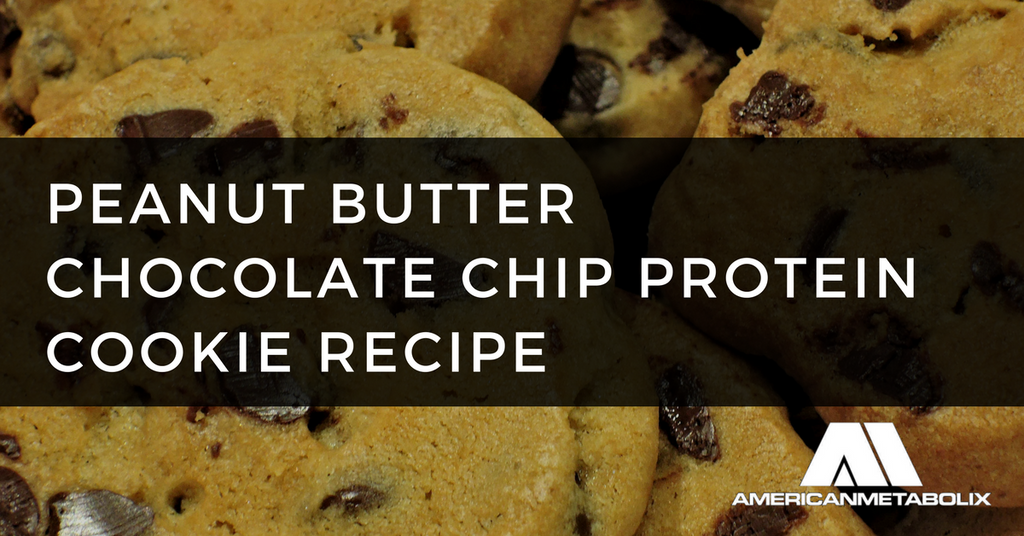 Peanut Butter Chocolate Chip Protein Cookie Recipe