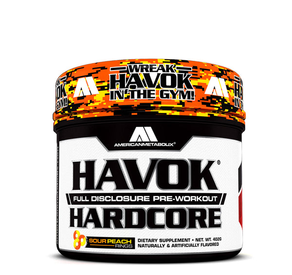 Havok Hardcore Sour Peach Rings