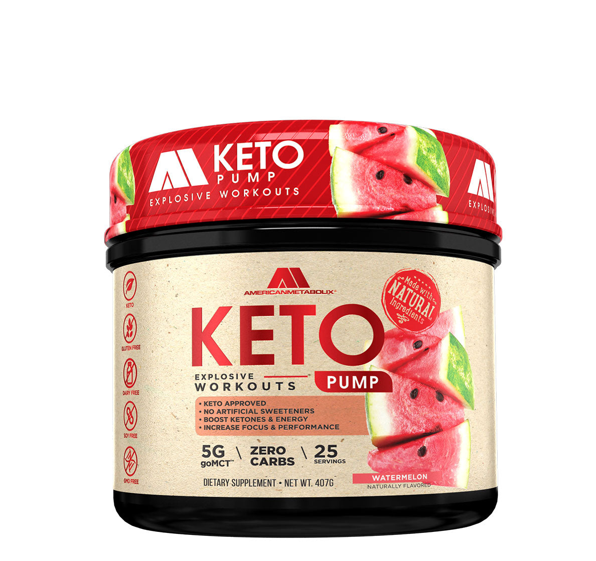 Keto Pump- Watermelon