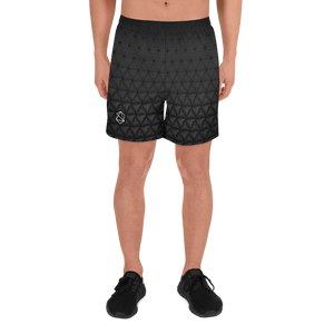 Breathable Active Aesthetic Structure Men's Athletic Black Shorts
