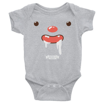 Happy (Infant short sleeve one-piece)