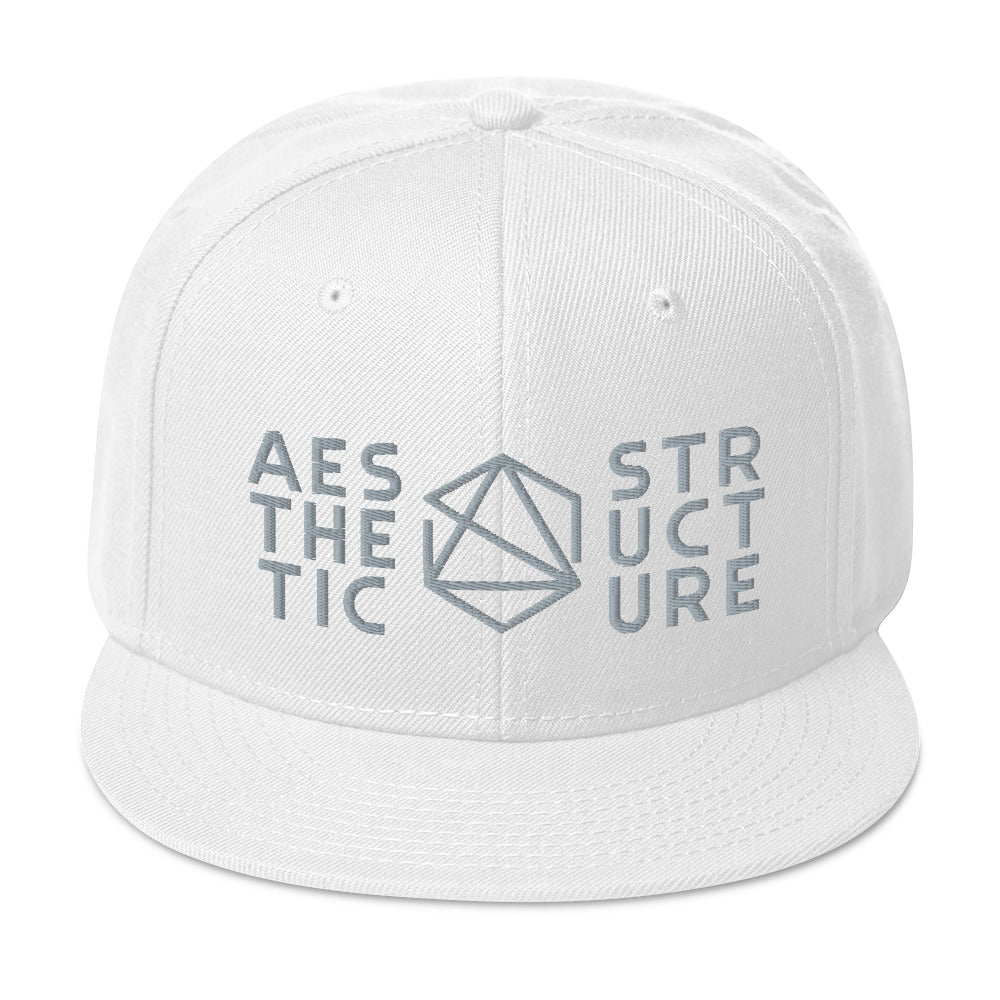 Aesthetic Structure Bright Snapback Hat