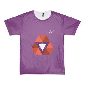 Trilogy Purple Short sleeve t-shirt (unisex) - justjetz.com - 1