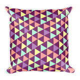 Triangular Love Decorative Pillow