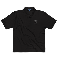 Signature Aesthetic Structure Embroidered Polo Shirt