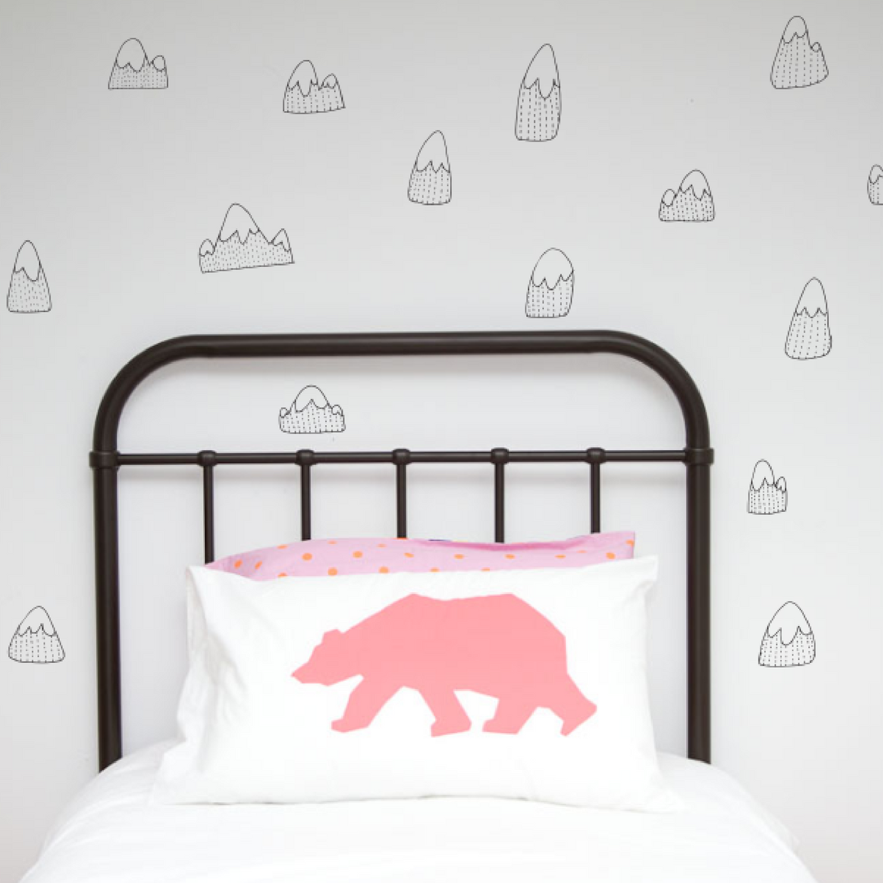 Mountains wall decals wall stickers nz childrens interiors mountain wall decals buy online in nz amipublicfo Choice Image
